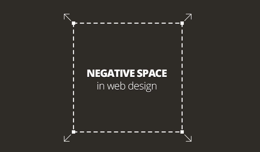 Negative space in web design web design northampton in for Importance of space in architecture