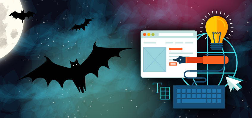 haloween-web-design