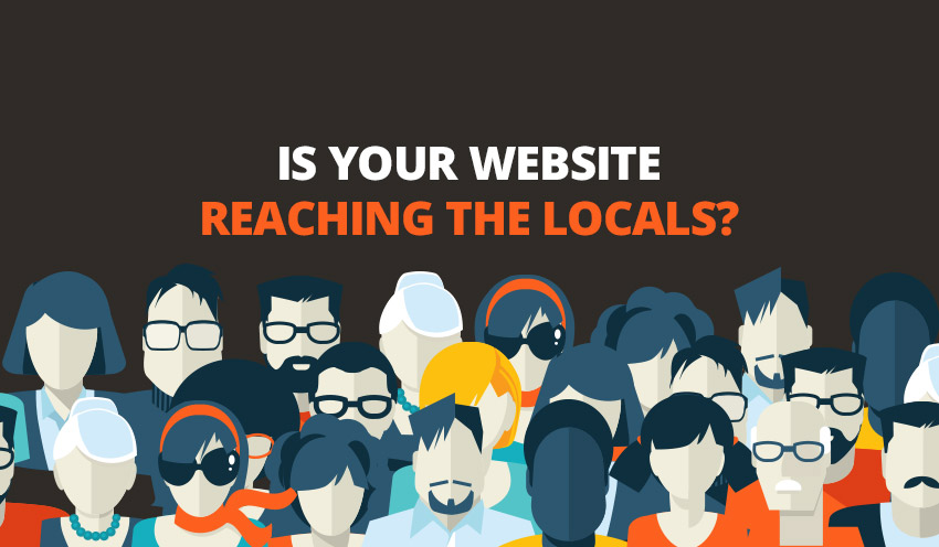 Is your website reaching the locals